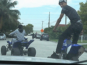 Illegal Bike Racers got more than they bargained for image 1